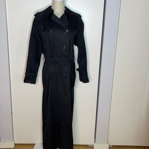 Burberry Classic Trench Coat Size 10 Long